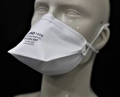 N95 Respirator & Surgical Mask, Niosh Approved & Class II Device (1)